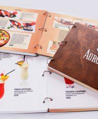 Изготовление и печать меню для ресторана кафе бара в Ташкенте