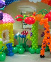 Оформление воздушными шарами в Ташкенте